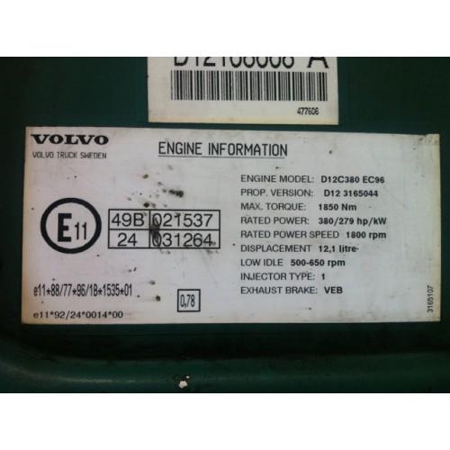 Centralina Motore Volvo FH12 380