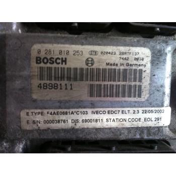 Centralina Motore ECU Iveco Eurocargo Tector 120E28  150E28